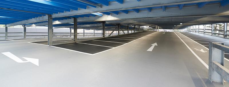 Rose Lane Car Park, Norwich, wins British Parking Award  'Best New Car Park 2017'-Bild