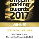 Winner British Parkig Award 2017